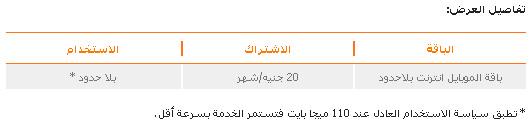ملف خاص .. باقات الإنترنت المحمول المتاحة أمام مستخدمي الهواتف الذكية في مصر 1