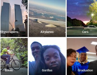 تطبيق جوجل للصور يوسم اصحاب البشرة السوداء بوسم (غوريلا) 7