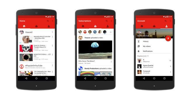 تحديث لتطبيق يوتيوب للاندرويد يجلب مزايا جديدة 5