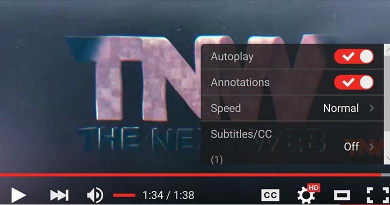 مشغل فيديو جديد لليوتيوب في نسخة الويب 4