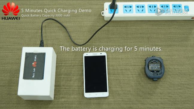 هواوي تقدم تقنية شحن سريعة للهواتف الذكية 5