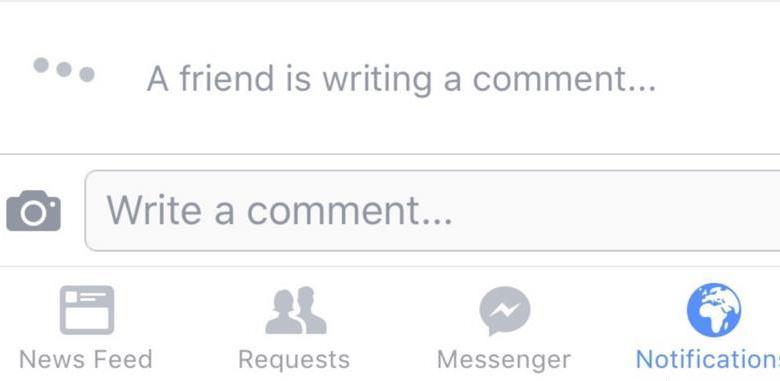 فيس بوك يختبر اخطارك عندما يهم صديق بكتابة تعليق 6