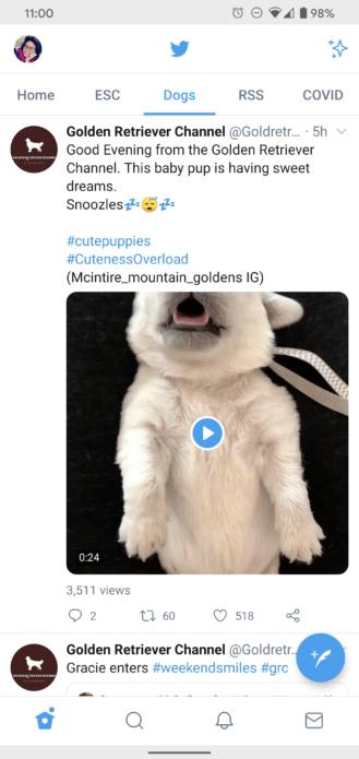 تويتر تحدّث (القوائم) بمزايا جديدة على نسخة اندرويد 3