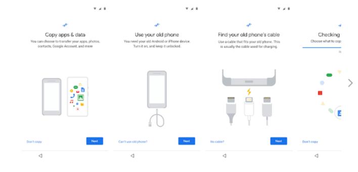 Data Restore Tool - جوجل تطرح تطبيق نقل البيانات بشكل منفصل على جوجل بلاي