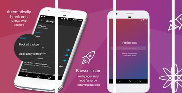 متصفح Firefox Focus متاح الان للاندرويد