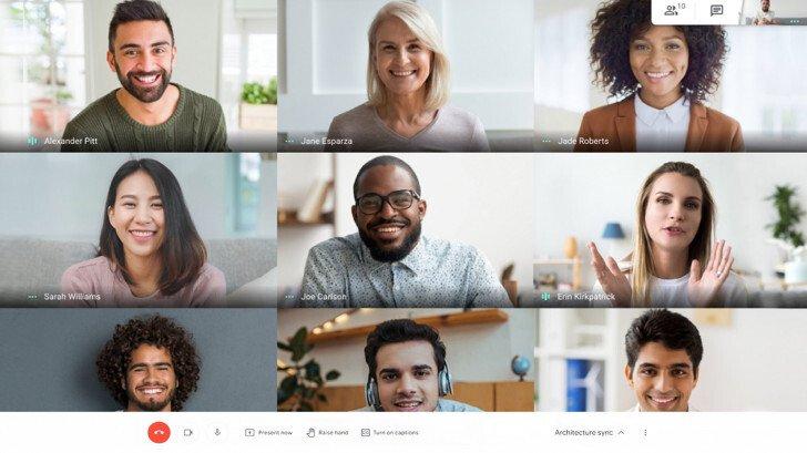 Google Meet مجاني للجميع حتى يونيو 2021