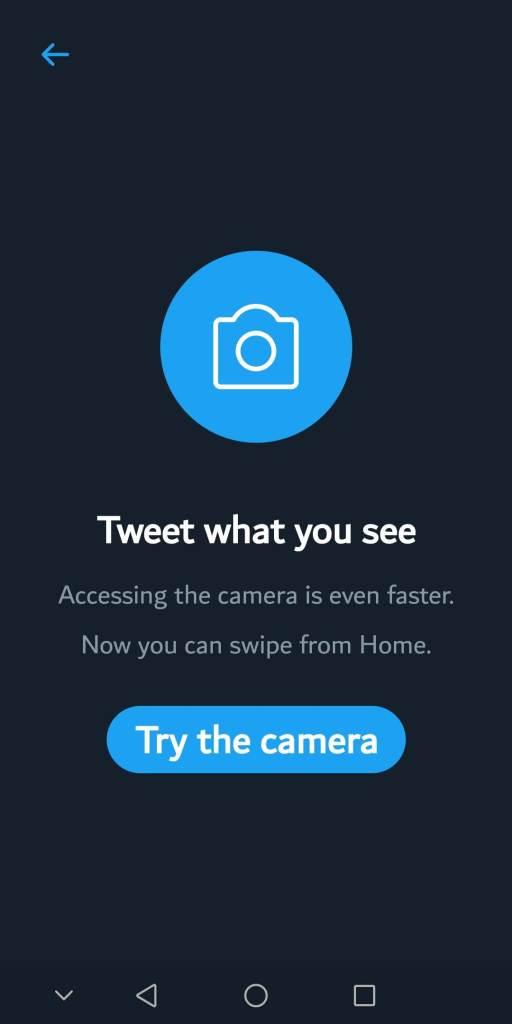 كيف تستخدم كاميرا تويتر الجديدة 1
