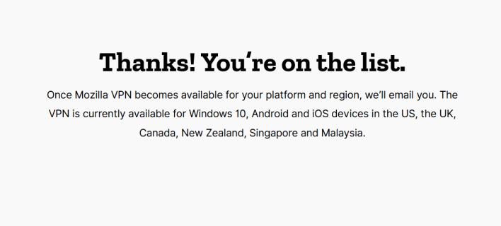 فايرفوكس يقدم خدمة VPN في 6 دول 1