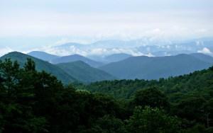 Blue Ridge Mountains Background