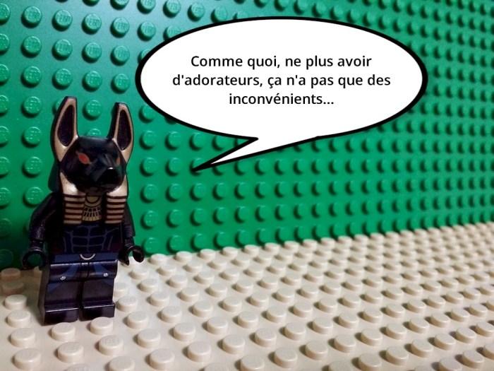 Anubis n'a plus d'adorateurs, il ne s'est jamais porté aussi bien.