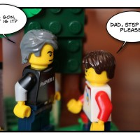 Father and Son in Lego