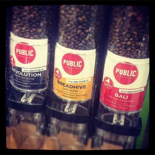 @publicespresso @breadhive (and Revolution and Bali) blend at the @lexingtoncoop