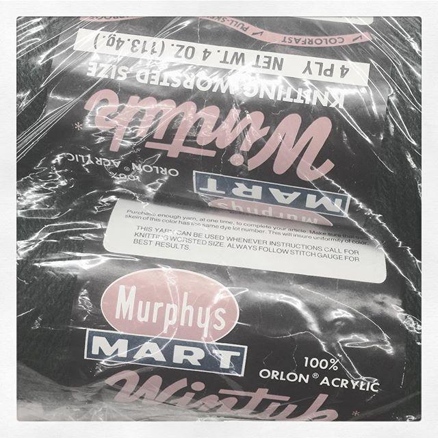 #tbt Murphy's Mart Wintuk 100% Orlon Acrylic