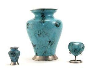 Glenwood Blue Marble Cremation Urn