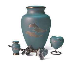 Aria Series Dolphin Cremation Urn