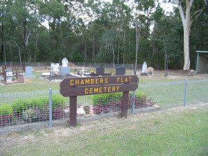 Chambers Flat Cemetery