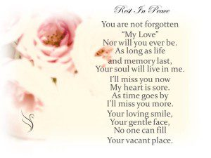 Funeral Poem Rest In Peace