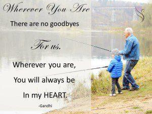 Funeral Quote Gandhi