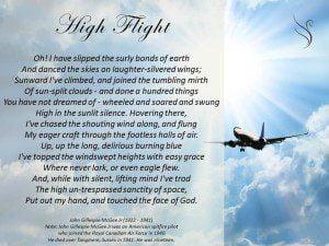 Funeral Poem High Flight Swanborough Funerals