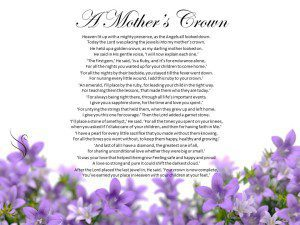 Funeral Poem For A Mother