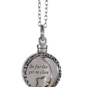 So Far But Yet So Close Memorial Pendant