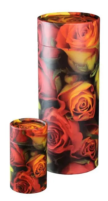 Ashes Scatter Tubes Roses