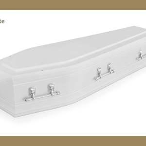 Marlee White Coffin