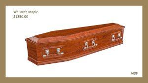 Wallarah Maple Coffin
