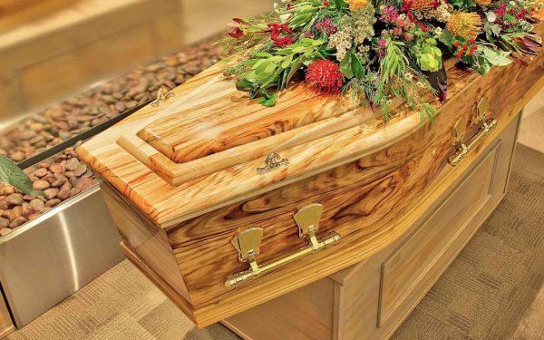 Camphor Laurel Solid Timber Coffin