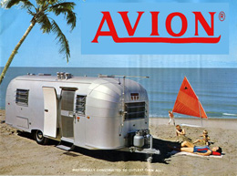 1967 Avion Camper Brochure See the wonders of vintage camping in a silver vacation home on wheels!