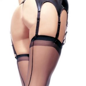 Leg Avenue Retro Style Seamed Stockings
