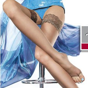 Plus size open toe stockings