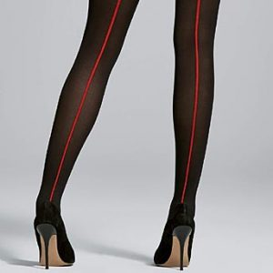 Fiore Single Contrast Seam Retro Tights
