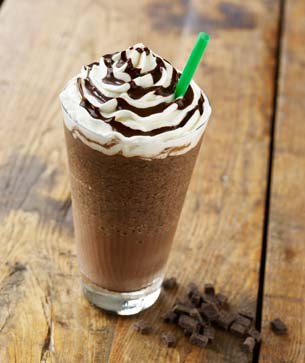 Chocolate Chip Frappuccino