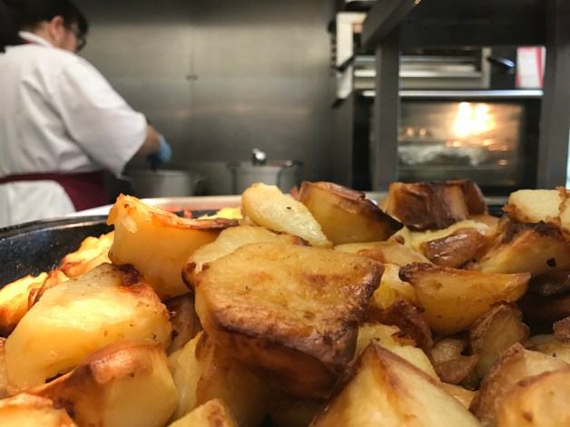 Roast Potatoes, Roasties, Meals On Wheels, Meal Delivery Service, Swanland House, Residential Care Home, Food, Lunch, Tasty, Crispy