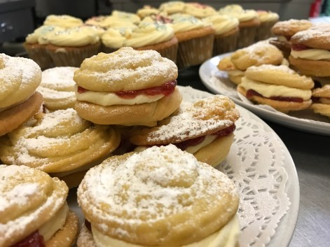 Viennese Whirls, Meals On Wheels, Meal Delivery Service, Swanland House, Baking, Sweet, Dessert,