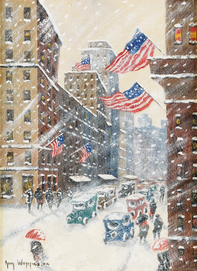 Guy C Wiggins An Impression Of Winter In New York
