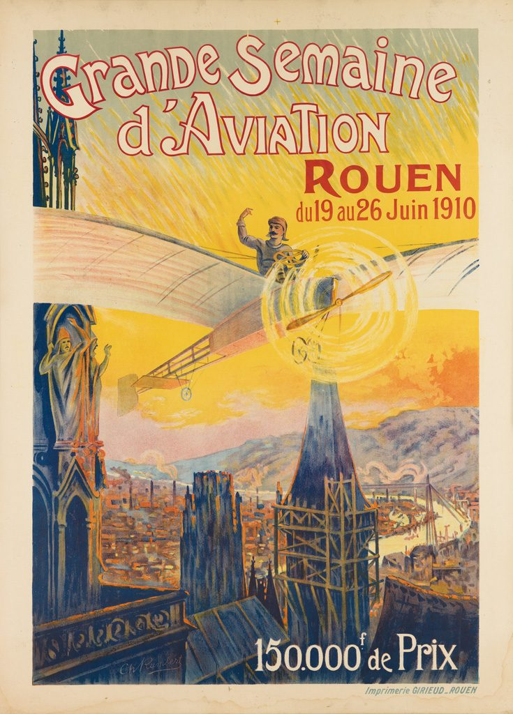 Marvel At Early Aviation Posters From 1910 Swann