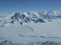 Antarctic glacier retreating 1