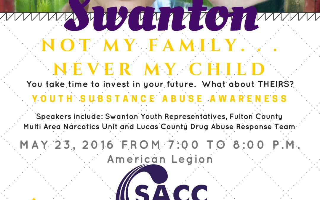 SACC – Youth Substance Abuse Awareness