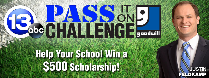 13abc/Goodwill Pass it on Challenge