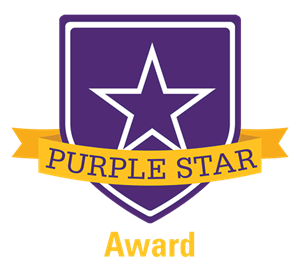 Swanton Middle School – Purple Star Award