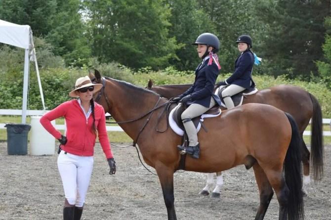 horseback riding lessons at swan training