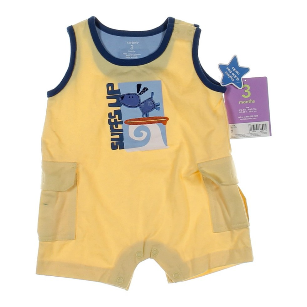 Carters Yellow Romper | 2017, 2018, 2019 Ford Price ...