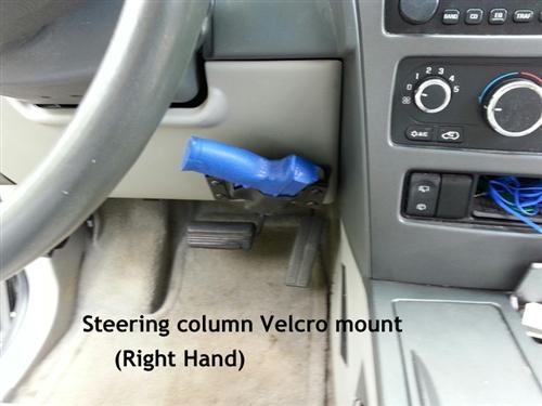 Car Pistol Holster Removable Velcro Attachment