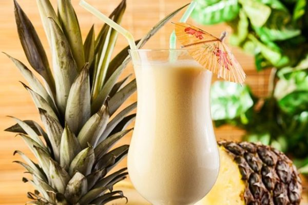 Pineapple mocktail