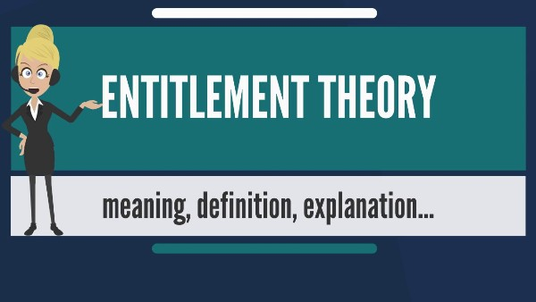 Entitlement theory and Ethics