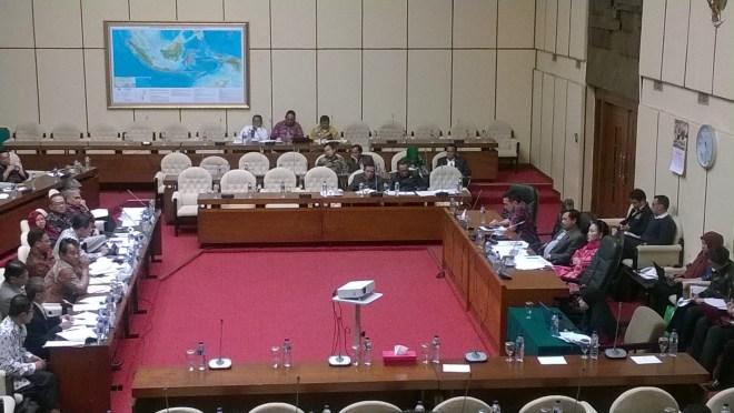 RDP Komisi IV dengan KTNA, SPI dan Asosiasi Pestisida Indonesia