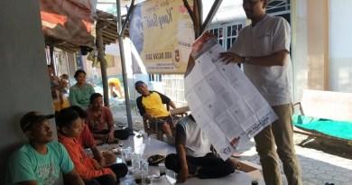 Giat Gerilya Desa Di Indramayu, Razak Said Motivasi Relawan TPS