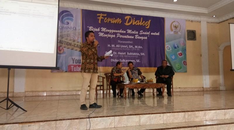 DPR dan Kominfo Bersepakat Jadikan Medsos Untuk Memperkuat Persatuan Bangsa
